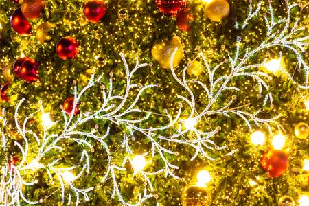 Closed up christmas tree Stok Fotoğraf