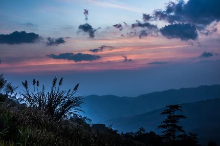 Mountain morning before sunrise Stok Fotoğraf - 101857010