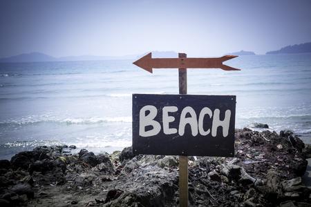 The way to the beach Stok Fotoğraf