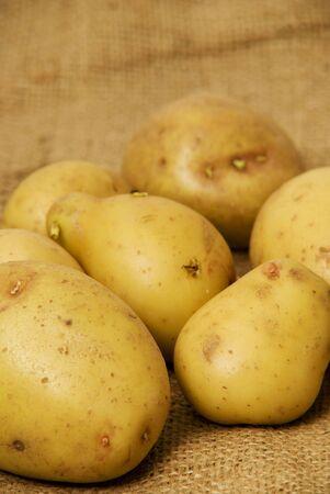 King edward aard appelen  Stockfoto