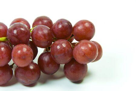 grote bos rijpe sappige rode pitloze druiven
