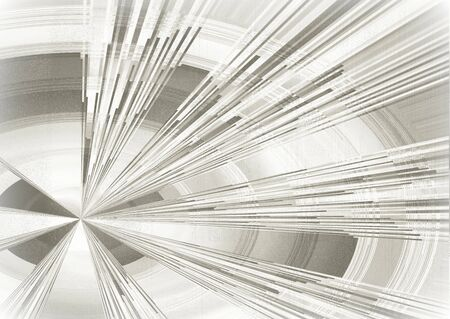 abstract black and white background with tunnel effect Stock Photo