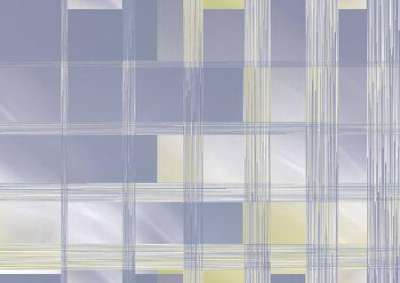 tinten blauw en geel abstract berekent het kwadraat achtergrond