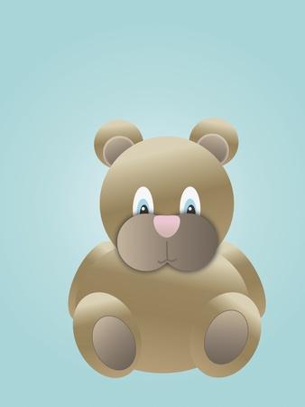 cute cubby teddy bear
