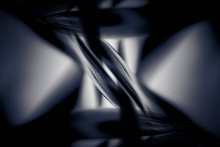 black and white swirling abstract pattern background