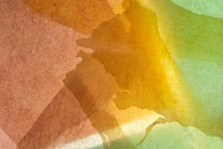 abstracte patroon achtergrond van witte, oranje en beige Stockfoto