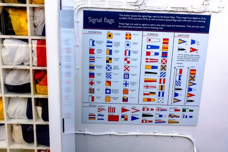 list of signal flags used by the british royal navy