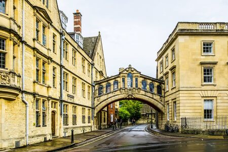 England Oxford 27th Sept 2016 The famous Bridge of Sighs,at Oxford University