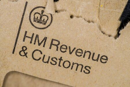 hm revenue and customs envelope torn open