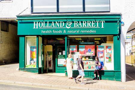 Kendal UK 28 May 2020 Holland and Barrett, Europe's largest health food shop Sajtókép