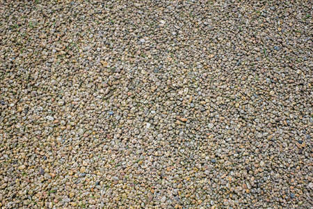 view of colored resin bound and bonded gravels laid for outdoor flooring.