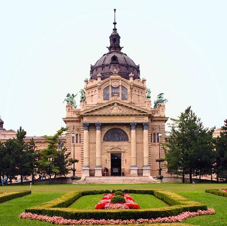 szechenyi: The Szechenyi Medicinal Bath � Hungary Budapest