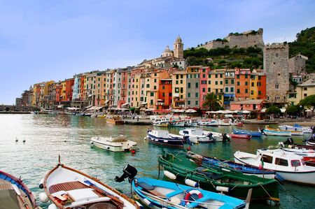 Port and Houses at Porto venere – Liguria - Italy