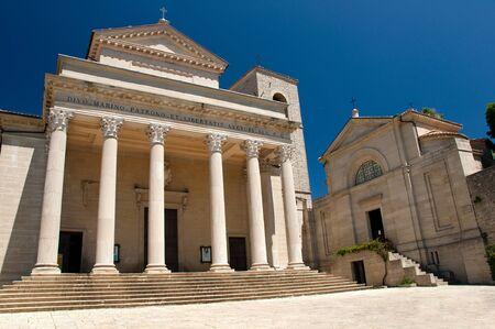 san marino: Basilica of  Repubblica di San Marino