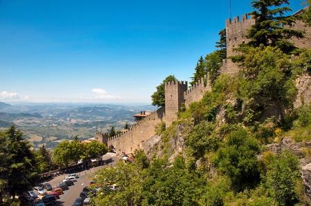 holidays vacancy: Repubblica di San Marino - Walls and landscape