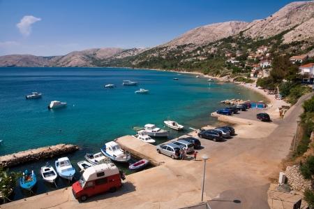 krk: Seaside at Stara Baska in Krk - Croatia