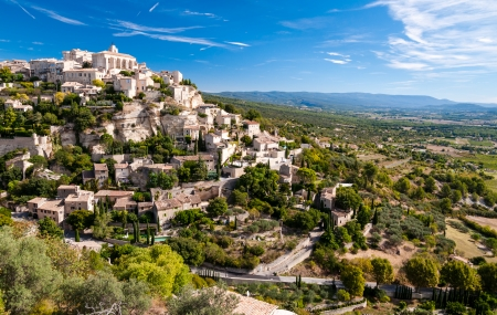 gordes: Gordes the beautiful village from provence - France
