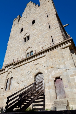 Tour du treseau fachade at Carcassonne in France