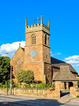 reloj de sol: Iglesia de Todos los Santos, West Bromwich, Inglaterra, Reino Unido