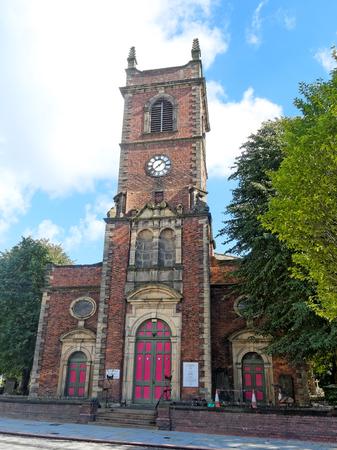 martyr: St. Edmund King & Martyr Church in Dudley, UK.