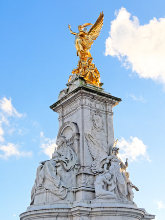 LONDON, FEBRUARY 04: Victoria Memorial Monument. UK 2017. Editorial