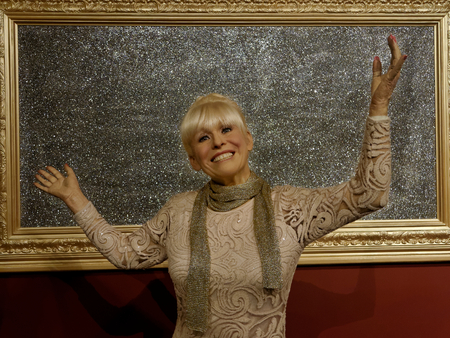 BLACKPOOL, JANUARY 14: Madame Tussauds, UK 2018. Wax figure of Dame Barbara Windsor is an English actress, known for her appearances in the Carry On films and for Peggy Mitchell in EastEnders Editorial