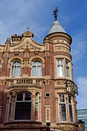 Birmingham, October 07: The Old Royal pub in Birminghams business district. UK 2018
