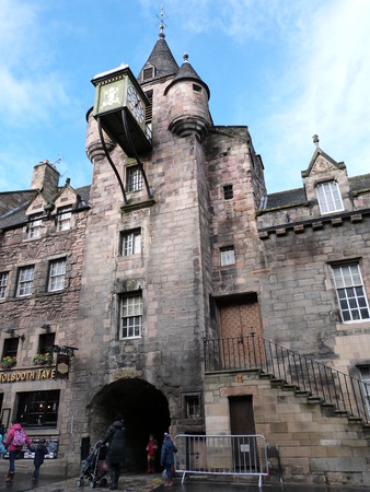 sic: The Canongate Tolbooth