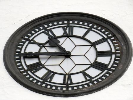 obrero: Iglesia de San Sebastián Reloj