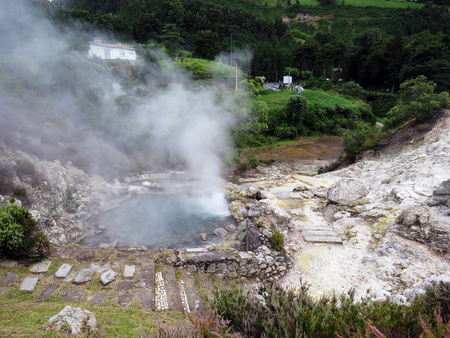 geysers: Geysers of boiling water