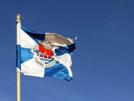 grande: Ribeira Grande Flag - Azores