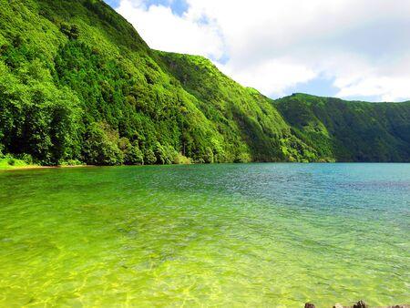 lagoon: Blue Lagoon Stock Photo