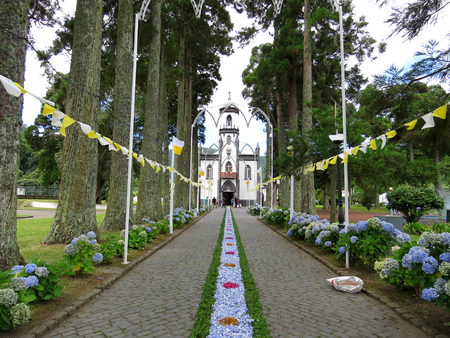 procession: St Nicolau procession