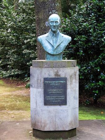 bust: Bust of Vasco Elias Bensaude Stock Photo