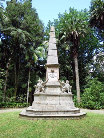 terra: Memorial in Terra Nostra park