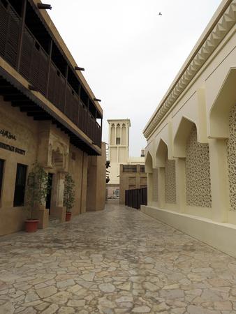 bastakiya: Bastakiya district streets - Dubai
