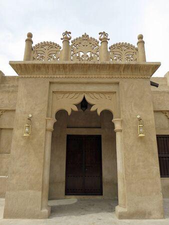 bastakiya: Building entrance at Al Bastakiya (Dubai)