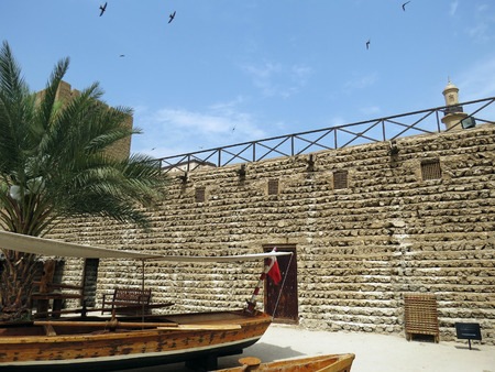 fort: Al Fahidi Fort Courtyard Editorial