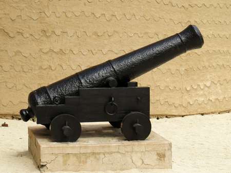 firepower: Old cannon