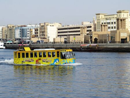 amphibious: Wonder bus dubai Editorial