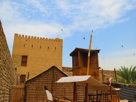 al: Al Fahidi Fort Courtyard Editorial