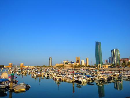 souq: Souq Sharq Marina Stock Photo