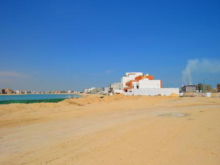 al: Al Khiran (city under construction) Stock Photo