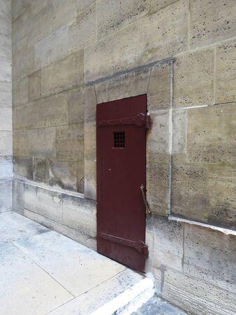 courtyard: Courtyard door, The Conciergerie