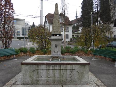 Fountain, Lucerne - Switzerland