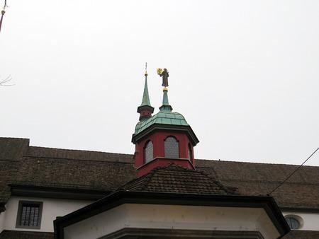 House, Lucerne - Switzerland Stockfoto