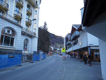 Engelberg city in Switzerland