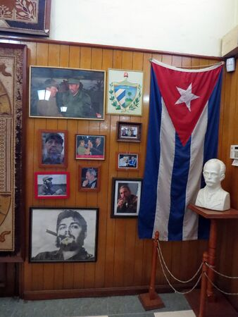 Inside the Bocoy Rum shop, Havana - Cuba