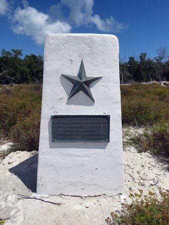 Mark of a fallen soldier, Cayo Blanco - Cuba