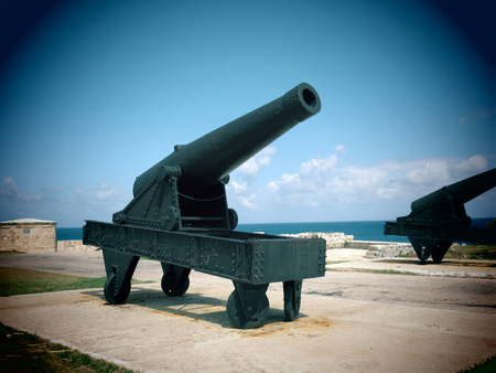 Castle of the 3 Kings Cannon, Havana - Cuba